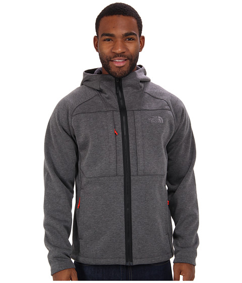 The North Face - Arroyo Full Zip Hoodie (TNF Black Heather) Men