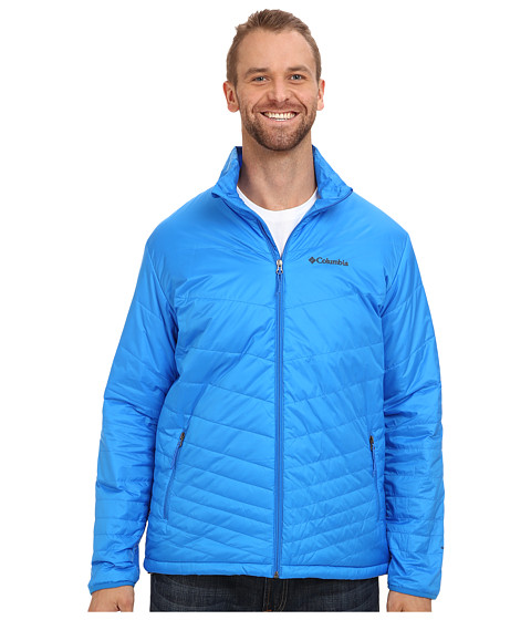 Columbia - Mighty Light Jacket - Tall (Hyper Blue) Men