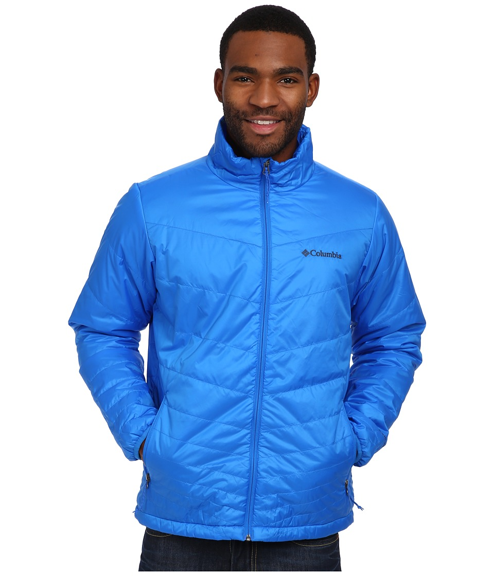 Columbia - Mighty Light Jacket (Hyper Blue) Men's Coat