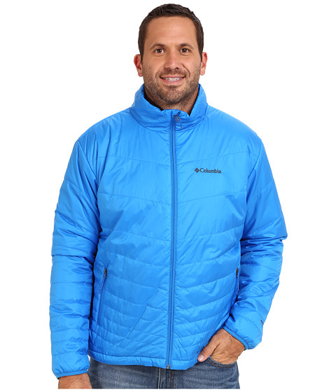 Columbia - Mighty Light Jacket - Extended (Hyper Blue) Men's Jacket