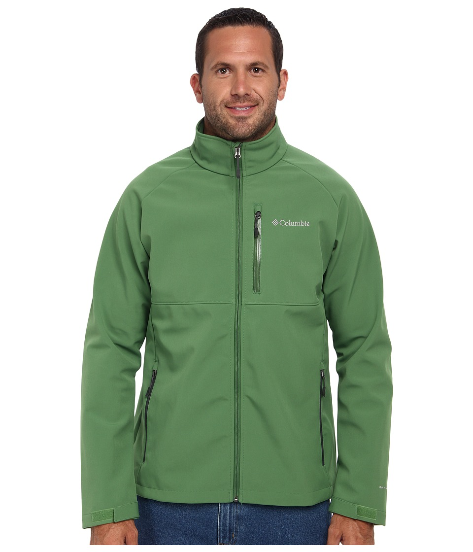 Columbia - Heat Mode II Softshell Jacket - Tall (Dark Backcountry/Dark Moss Pop) Men