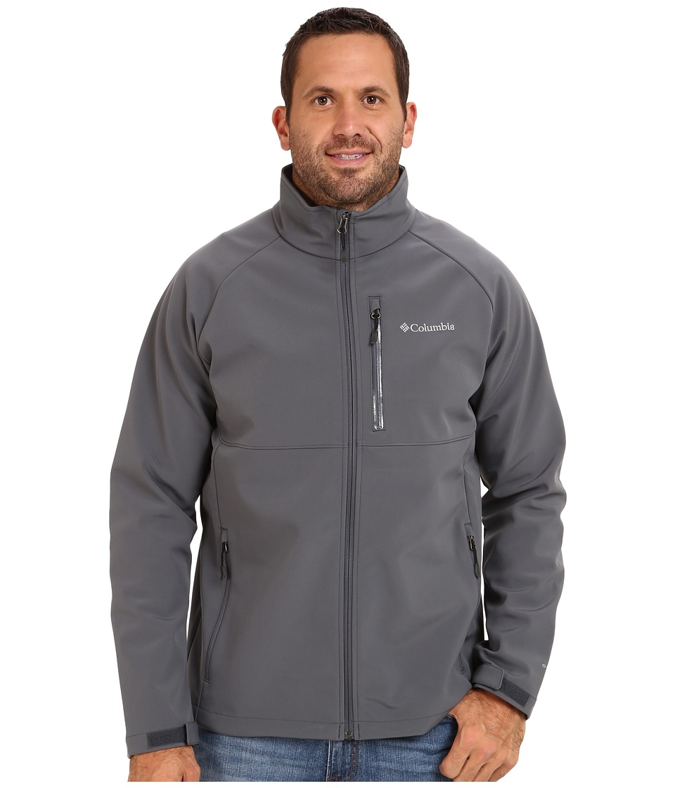 Columbia - Heat Mode II Softshell Jacket - Extended (Graphite) Men's Jacket