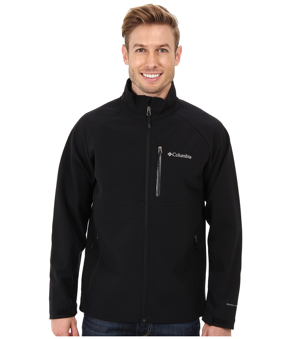 Columbia Heat Mode II Softshell Jacket (Black) Men