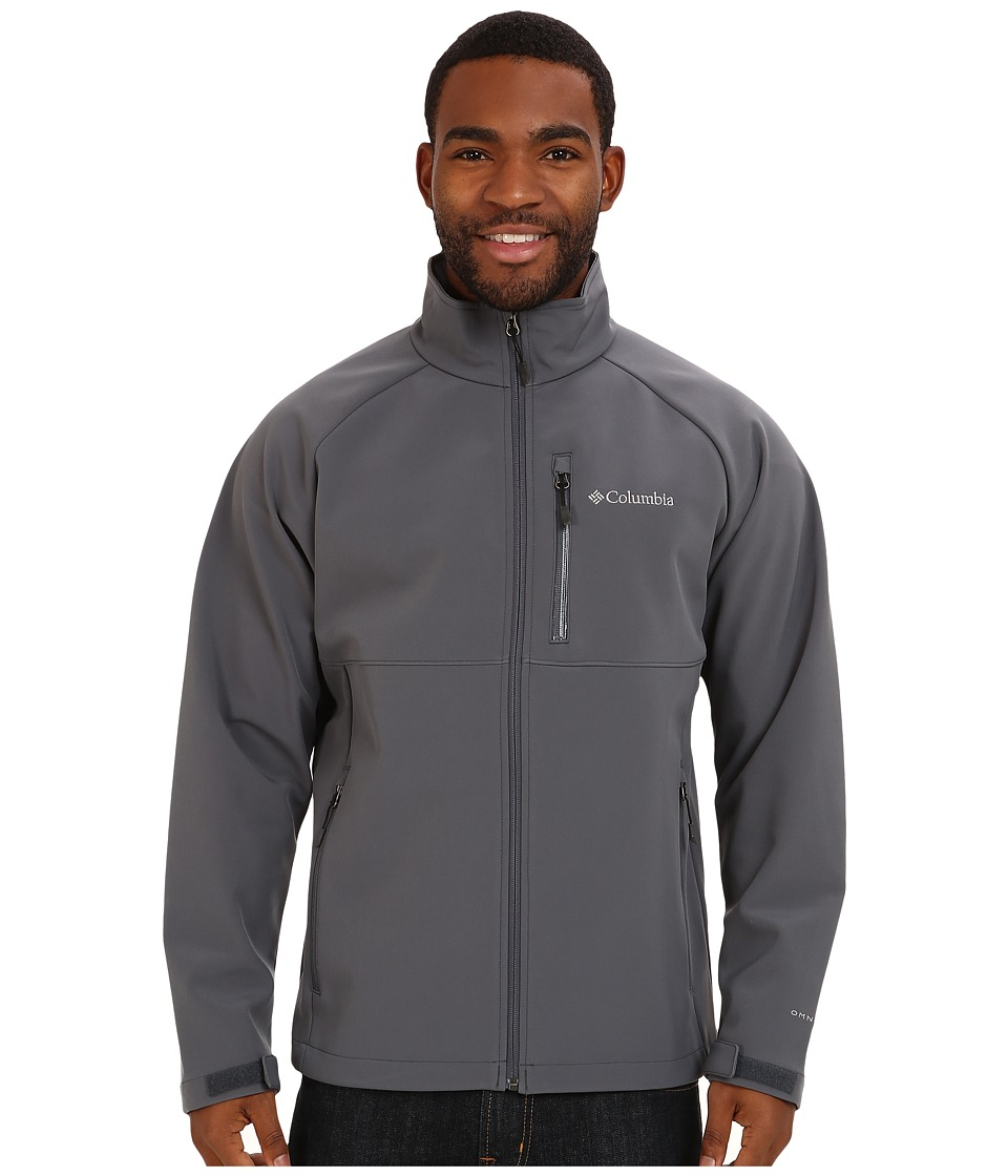 Columbia - Heat Mode II Softshell Jacket (Graphite) Men's Jacket