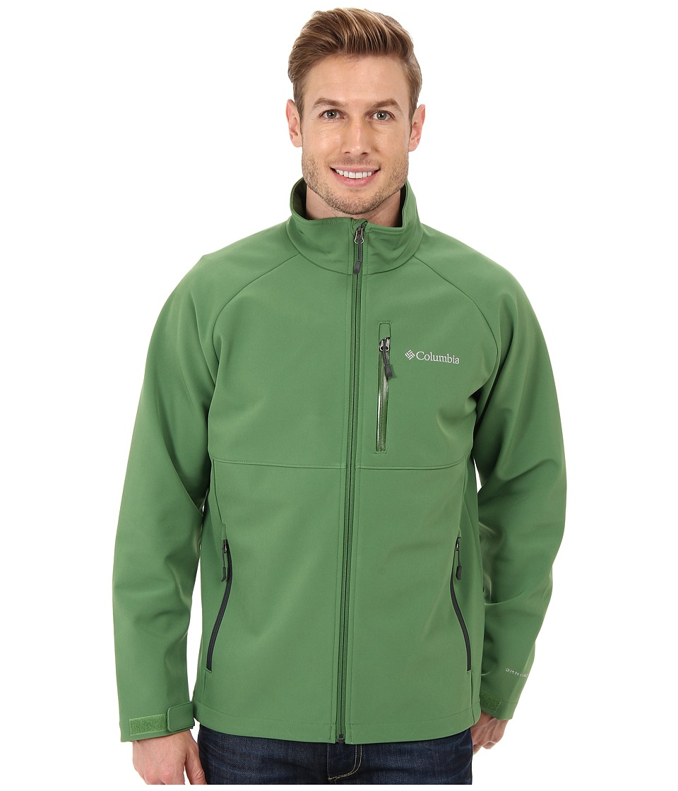 Columbia - Heat Mode II Softshell Jacket (Dark Backcountry/Dark Moss Pop) Men
