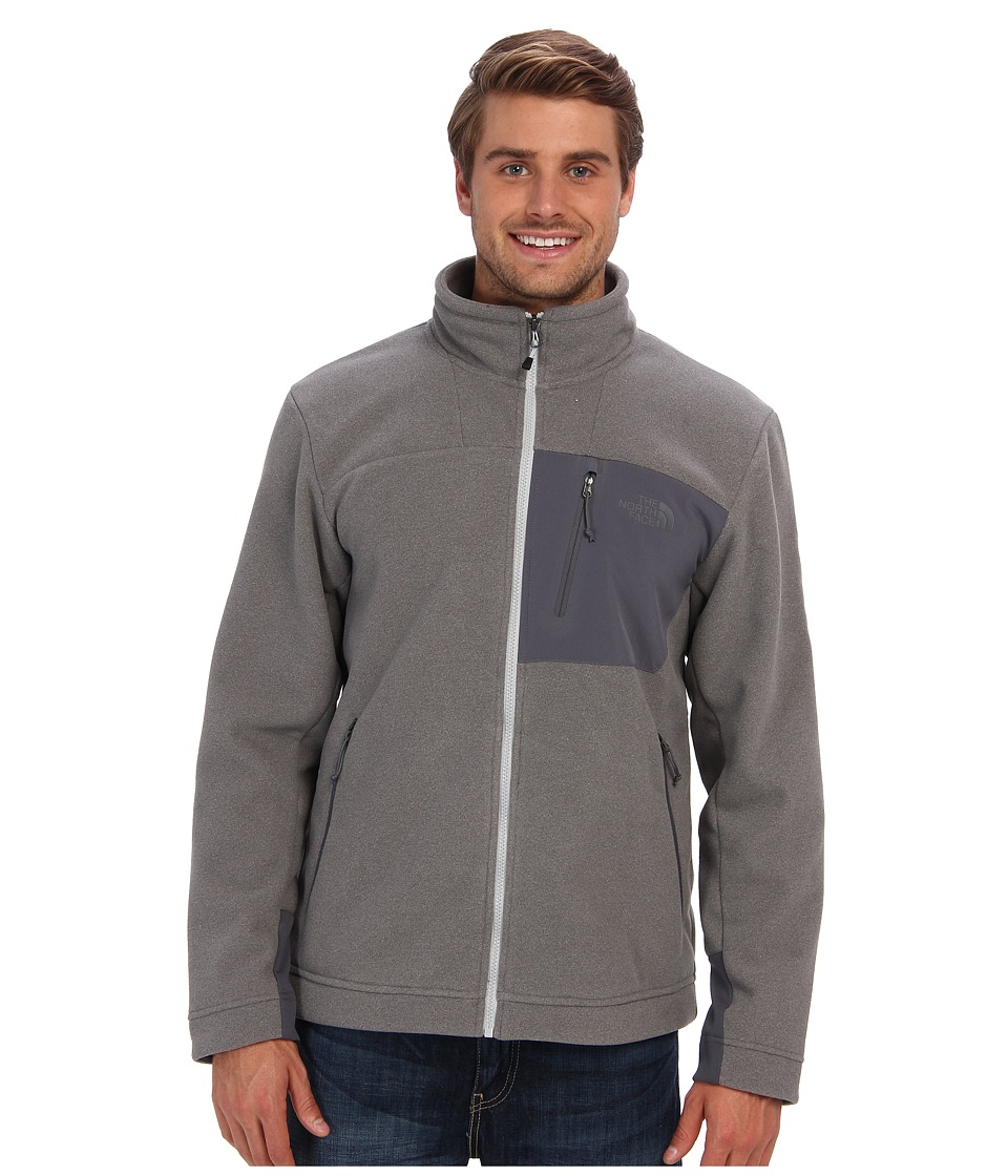 The North Face - Chimbarazo Full Zip (High Rise Grey Heather) Men's Coat