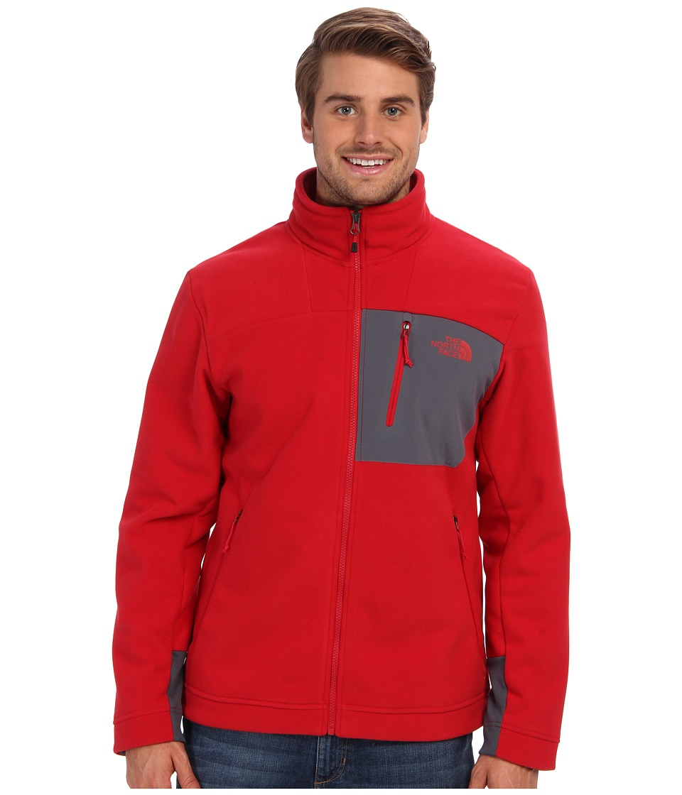 The North Face - Chimbarazo Full Zip (Rage Red) Men's Coat