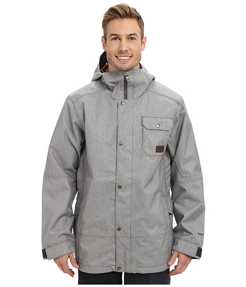 The North Face - Number Eleven Jacket (Graphite Grey RR Stripe/Dachshund Brown) Men's Jacket