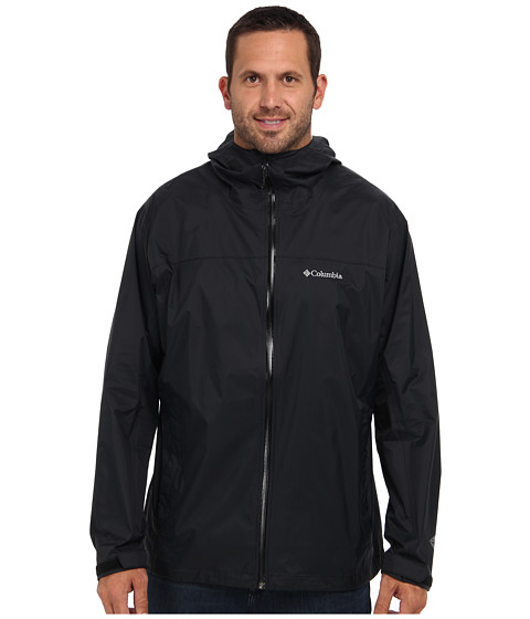 Columbia - EvaPOURation Jacket - Tall (Black) Men's Coat
