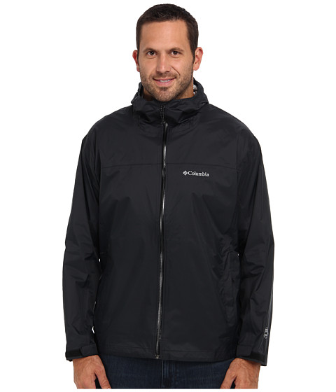 Columbia - EvaPOURation Jacket - Extended (Black) Men's Jacket