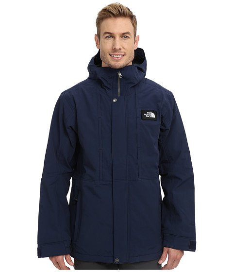 The North Face - Turn It Up Jacket (Cosmic Blue/TNF Black) Men's Coat