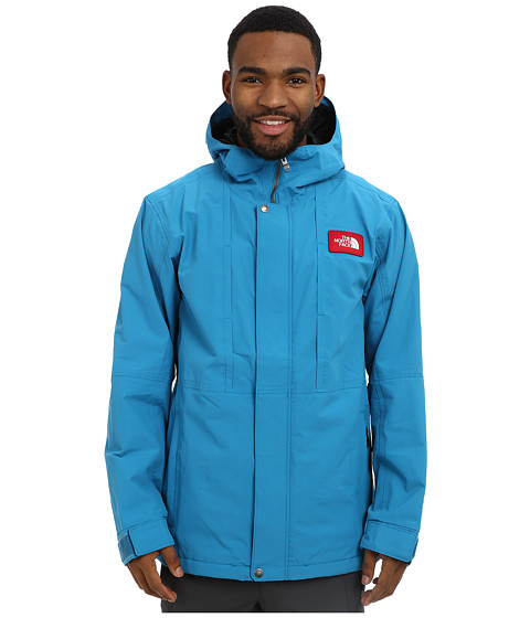The North Face - Turn It Up Jacket (Baja Blue/TNF Black) Men