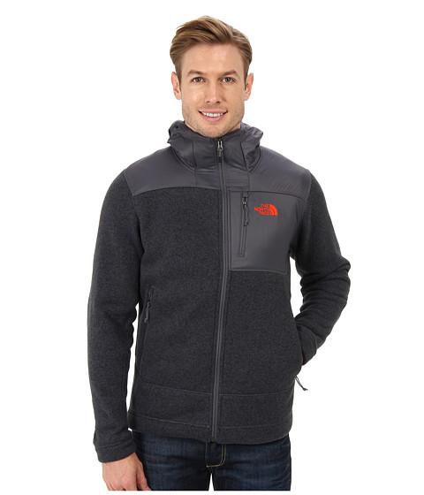 The North Face - Gordon Anza Full Zip Hoodie (Vanadis Grey Heather) Men's Sweatshirt