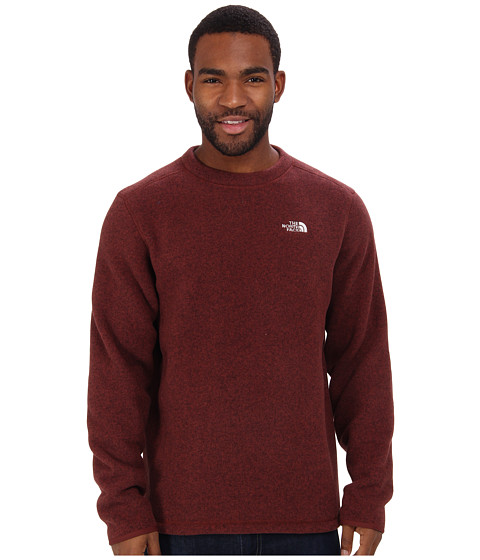 The North Face - Gordon Lyons Crew (Cherry Stain Brown Heather) Men