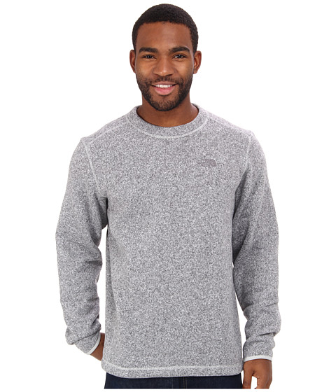 The North Face - Gordon Lyons Crew (High Rise Grey Heather) Men