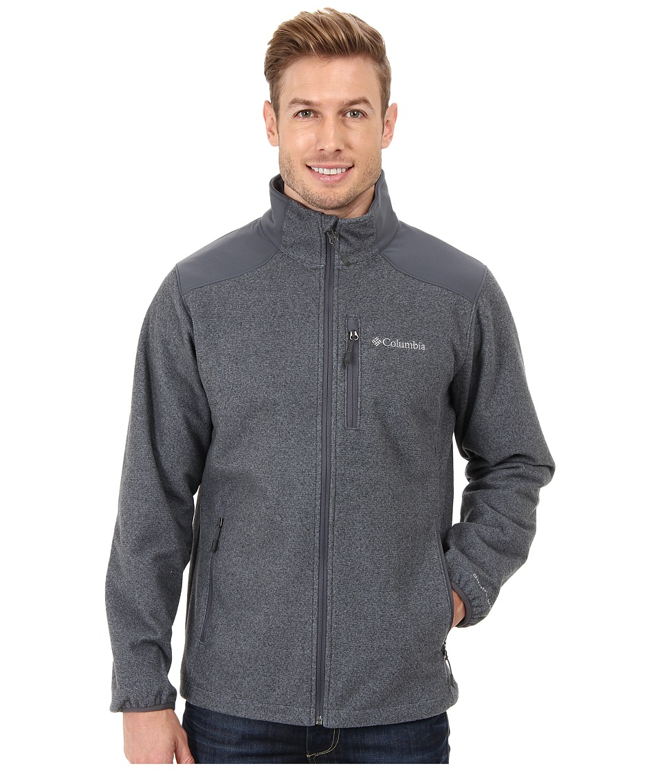 Columbia - Wind Protector Novelty Jacket (Graphite) Men's Jacket