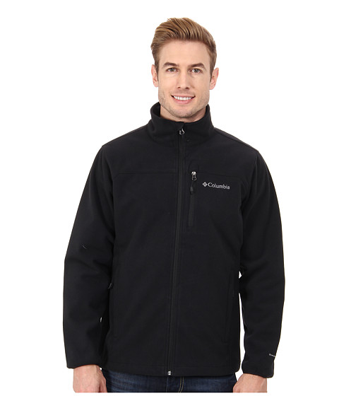 Columbia - Wind Protector Jacket (Black) Men's Coat
