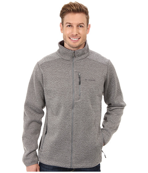 Columbia - Rebel Ravine Fleece Jacket (Boulder/Sea Salt) Men