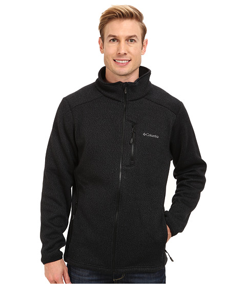 Columbia - Rebel Ravine Fleece Jacket (Black/Graphite) Men