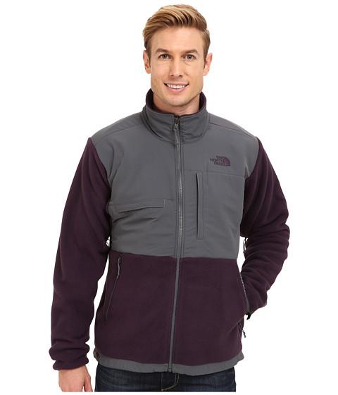 The North Face - Denali Jacket (Recycled Dark Eggplant Purple/Vanadis Grey) Men
