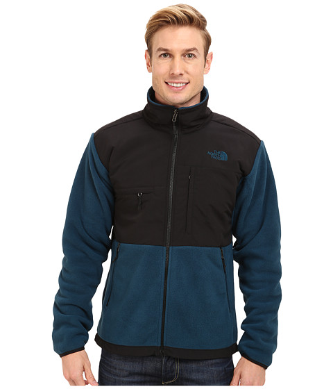 The North Face - Denali Jacket (Recycled Monterey Blue/TNF Black) Men's Coat