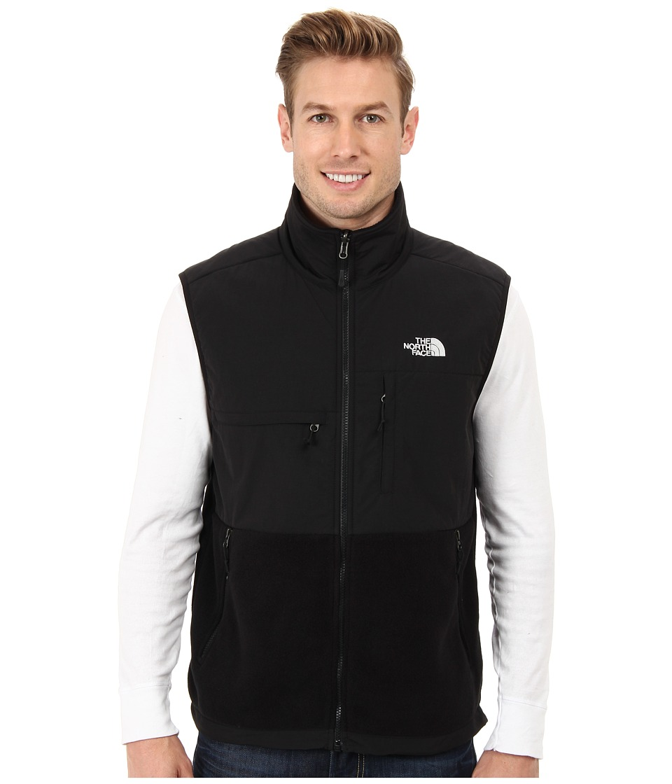 The North Face - Denali Vest (Recycled TNF Black/TNF Black) Men's Vest