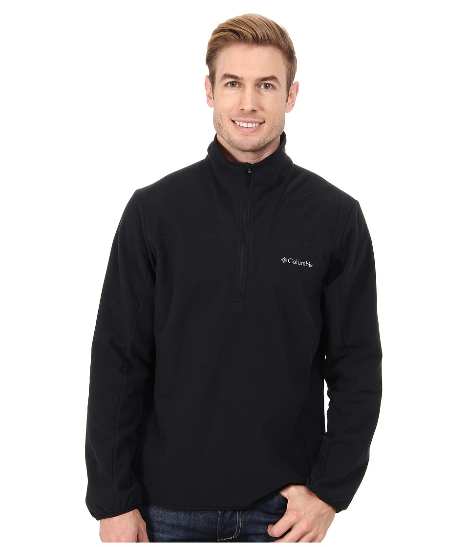 Columbia - Whiskey Creek Half-Zip Fleece (Black/Graphite) Men's Coat
