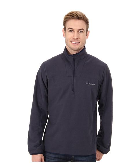 Columbia - Whiskey Creek Half-Zip Fleece (India Ink/Collegiate Navy) Men's Coat