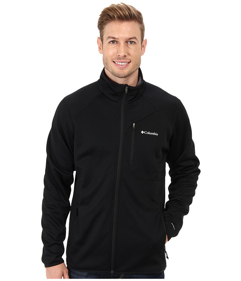 Columbia - Helter Shelter Fleece Jacket (Black/Graphite) Men's Jacket