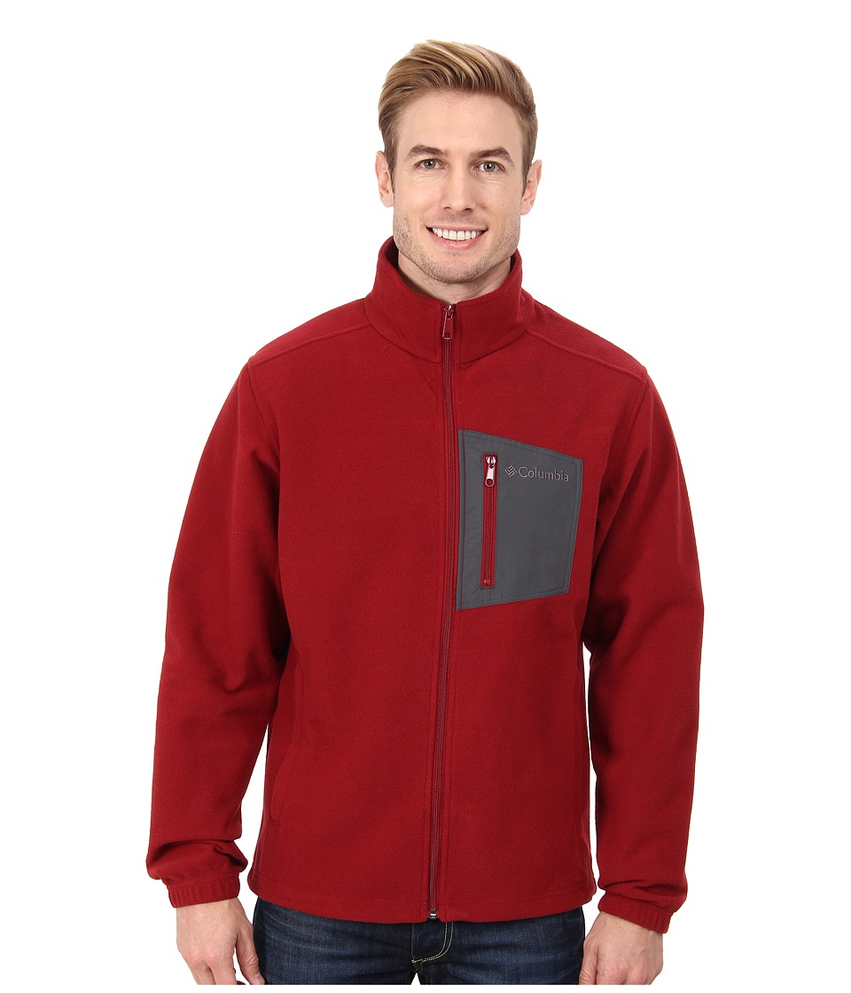 Columbia - Hot Dotstm II Full Zip (Red Element) Men's Jacket