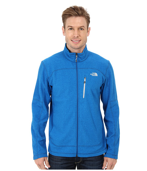 The North Face - Texture Cap Rock (Snorkel Blue) Men's Coat