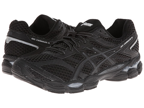 ASICS - Gel-Cumulus 16 (Black/Onyx/Silver) Men