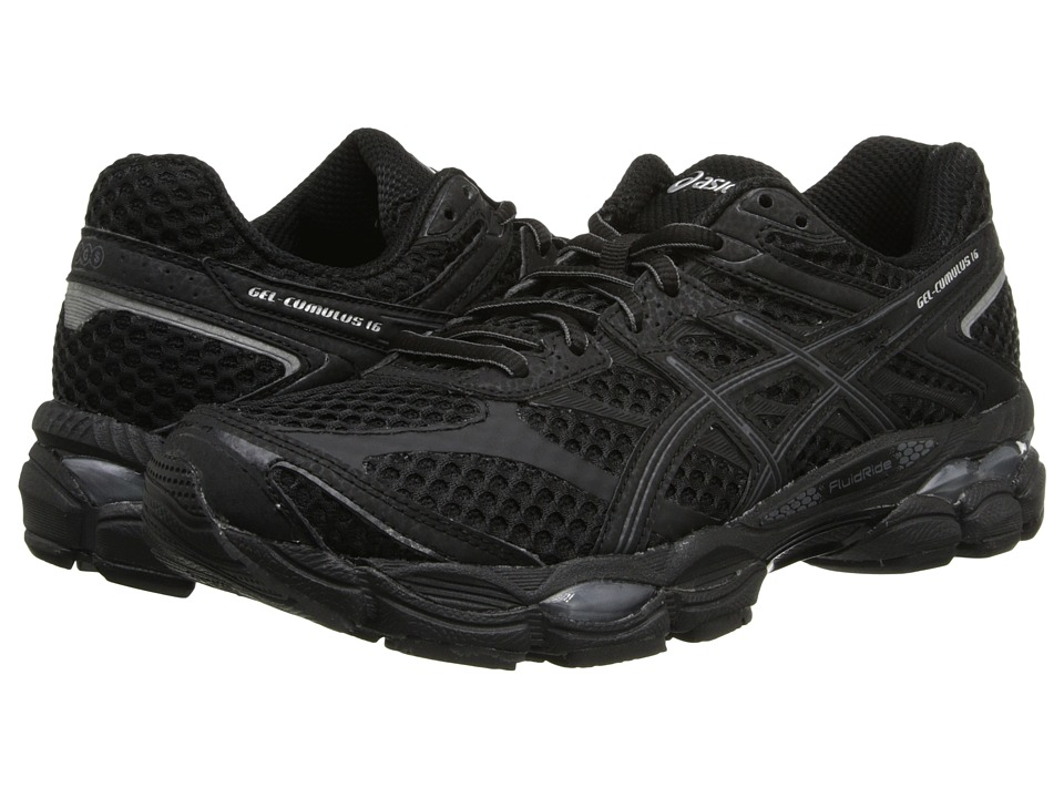 ASICS - Gel-Cumulus 16 (Black/Onyx/Silver) Women's Running Shoes
