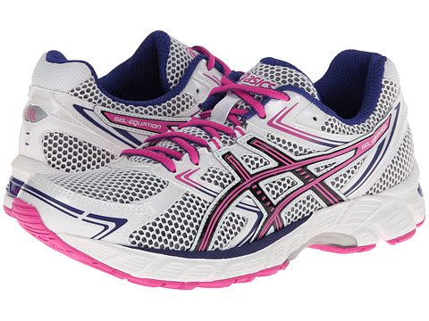 ASICS - GEL-Equation 7 (White/Black/Hot Pink) Women's Running Shoes