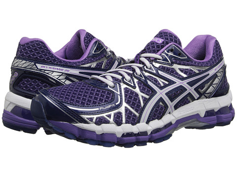 ASICS - Gel-Kayano 20 (Purple/White/Lavender) Women's Running Shoes