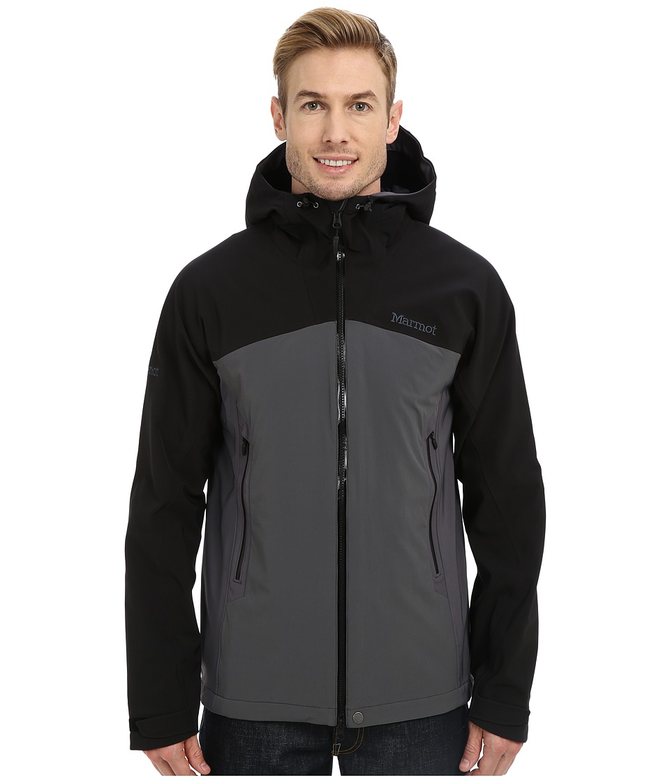 Marmot - Misto Jacket (Black/Slate Grey) Men's Coat