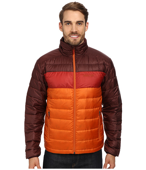 Marmot - Ares Jacket (Warm Spice/Red Night) Men