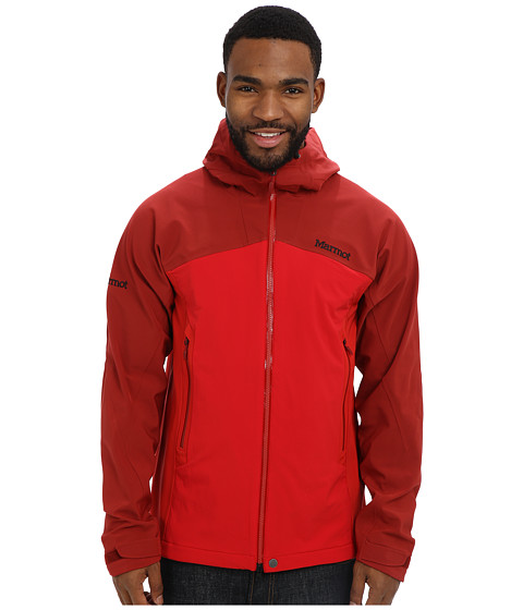 Marmot - Misto Jacket (Dark Crimson/Team Red) Men's Coat