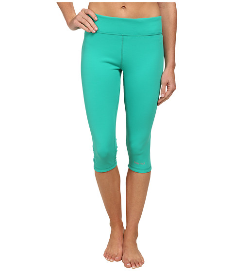 Marmot - Catalyst 3/4 Reversible Tight (Lush/Ice Green) Women's Capri