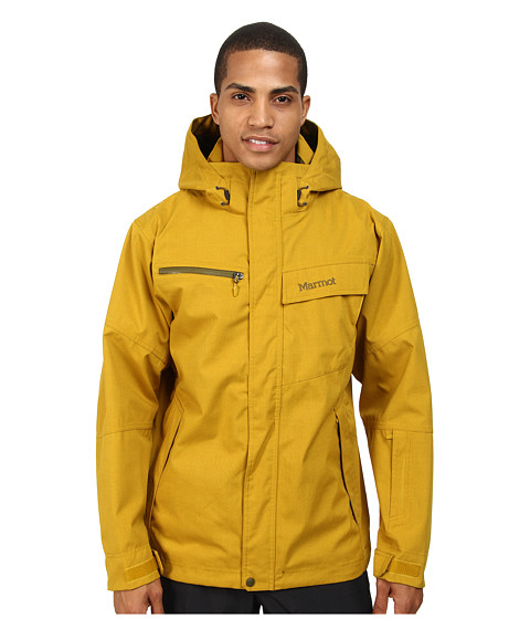 Marmot - Great Scott Jacket (Green Mustard) Men