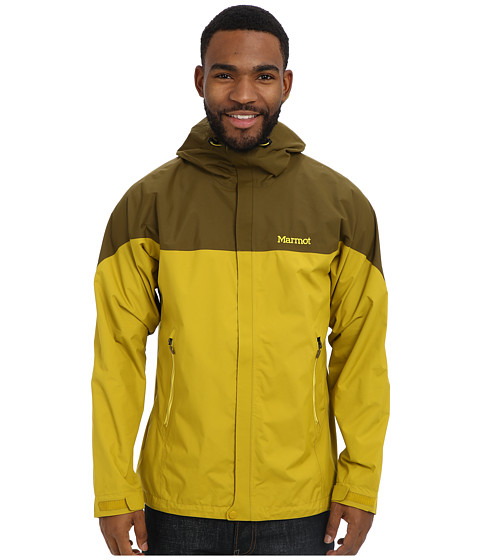 Marmot - Kirwin Jacket (Green Mustard/Brown Moss) Men