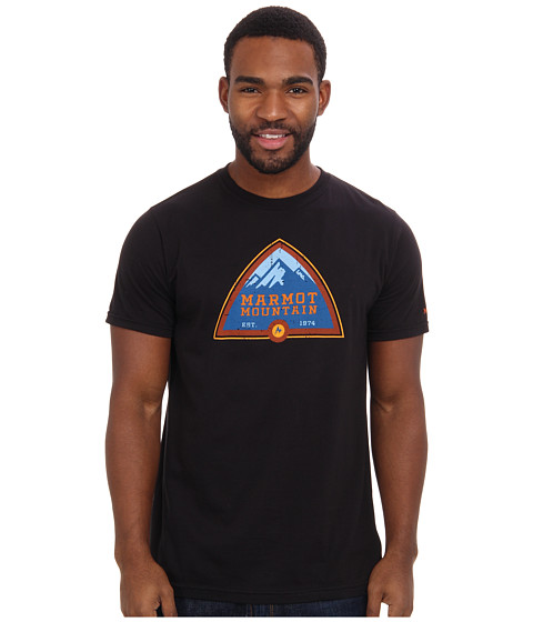 Marmot - Tioga Pass Tee S/S (Black) Men