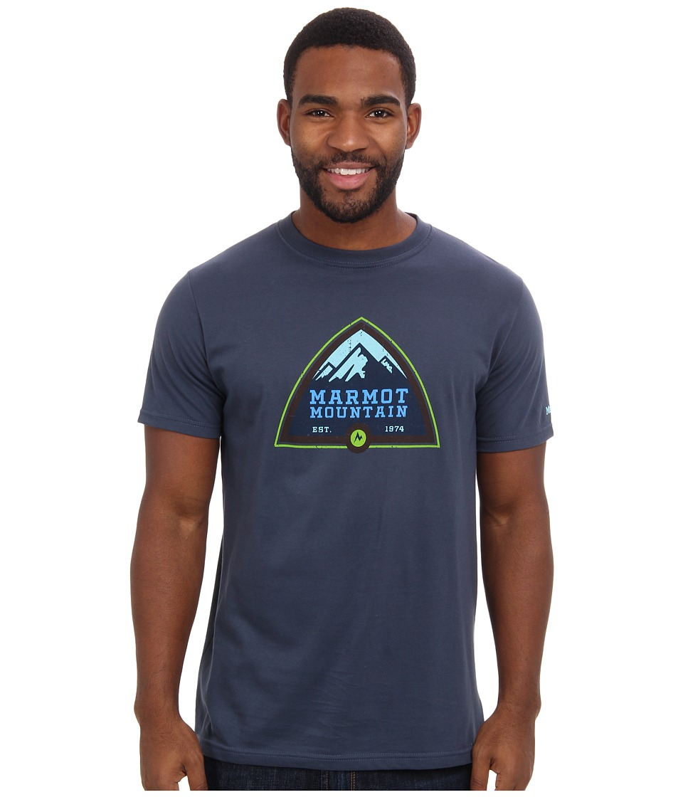 Marmot - Tioga Pass Tee S/S (Twilight) Men