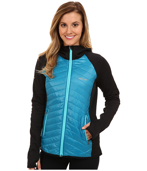 Marmot - Variant Hoody (Aqua Blue/Black) Women's Coat