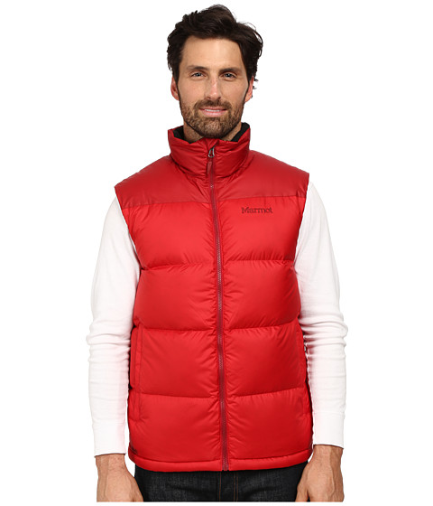 Marmot - Guides Down Vest (Team Red/Dark Crimson) Men