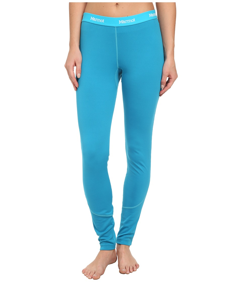 Marmot - ThermalClime Pro Tight (Aqua Blue) Women's Casual Pants