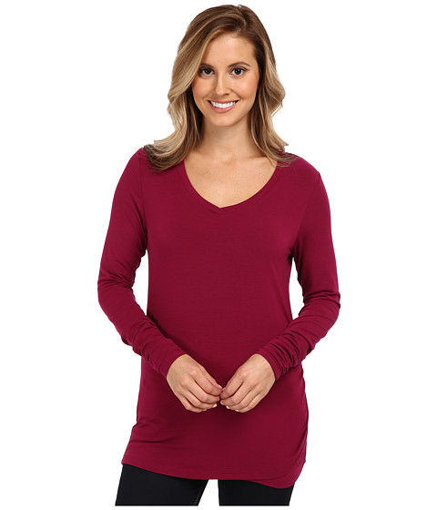 Marmot - Olivia L/S (Plum Rose) Women's Long Sleeve Pullover