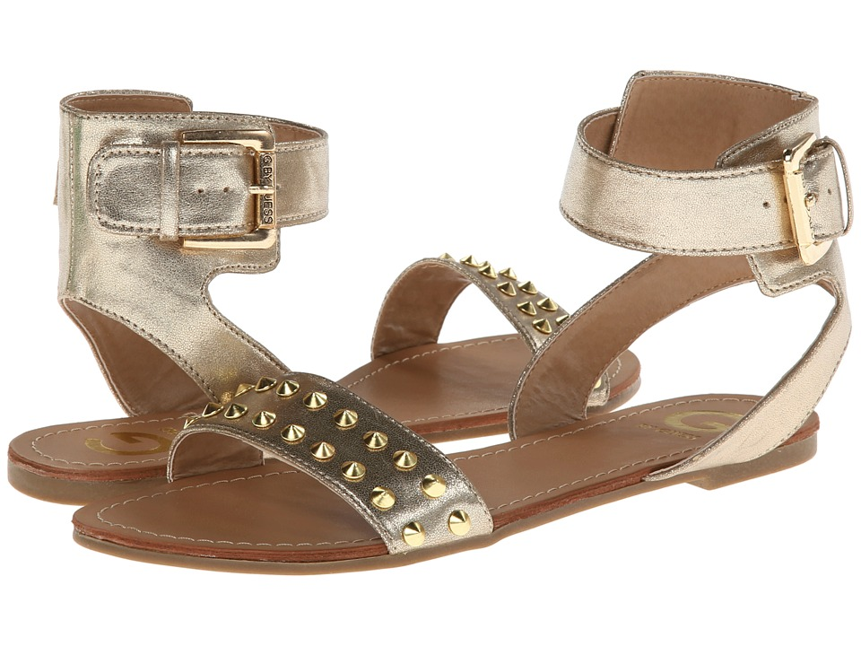 G by GUESS - Keeper 3 (Gold) Women's Sandals