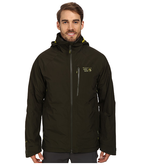 Mountain Hardwear - Snowpulsion Insulated Jacket (Greenscape) Men's Jacket