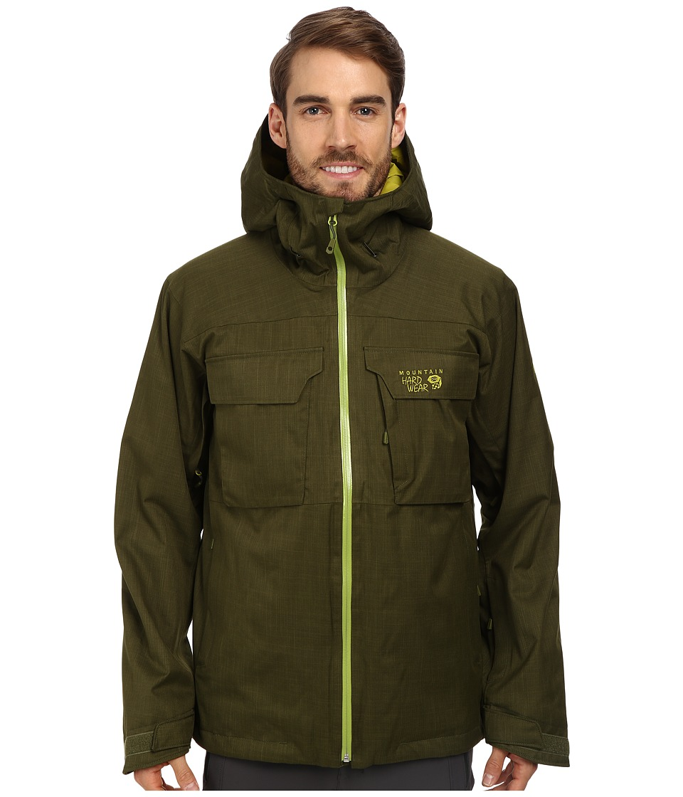 Mountain Hardwear - Powzilla Insulated Jacket (Utility Green) Men's Coat